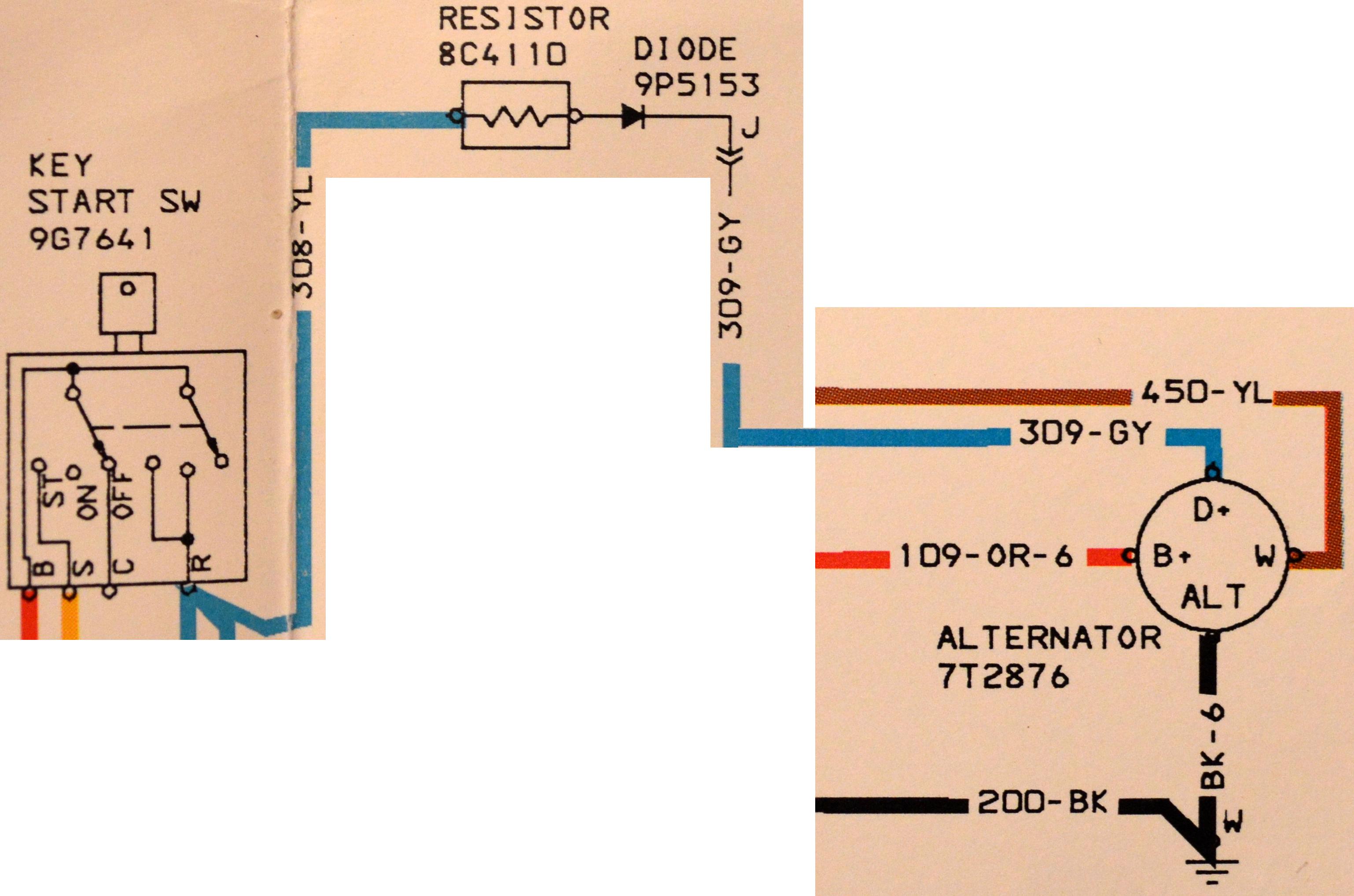 Universal alternator wiring - TractorByNet