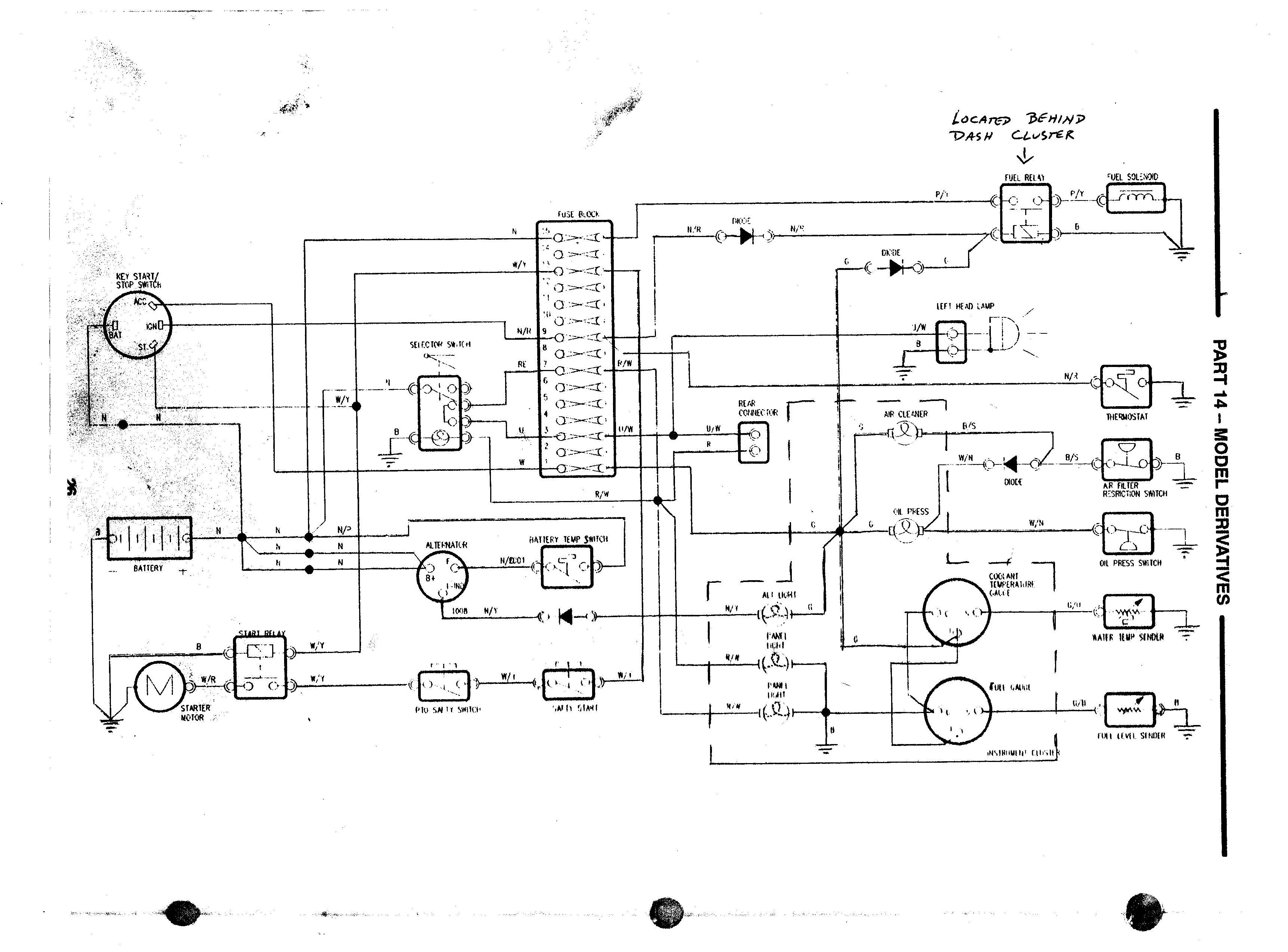 ford 3910 wiring diagram - tractorbynet  tractorbynet