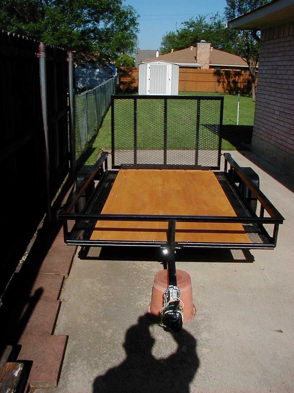 Plywood Trailer Deck Tractorbynet