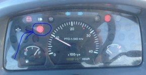 Ck25 Light On The Dash After Winter Can T Find In User Guide Tractorbynet