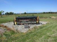 Grain drill lawn art.JPG