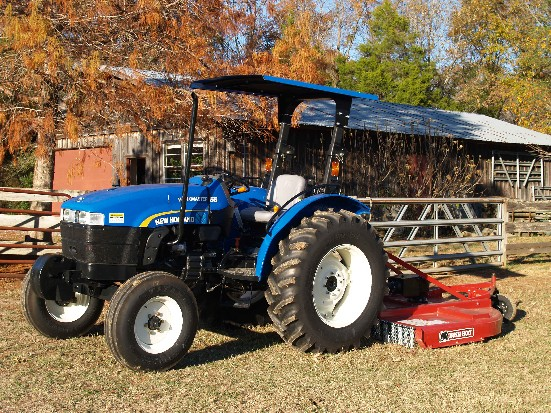 New holland workmaster 55 review by harold b tractorbynet com