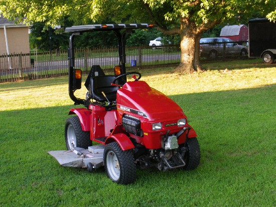 Honda H5518 Review By Charles Bailey Tractorbynet Com