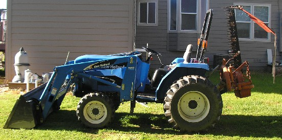 New Holland Tc30 Review