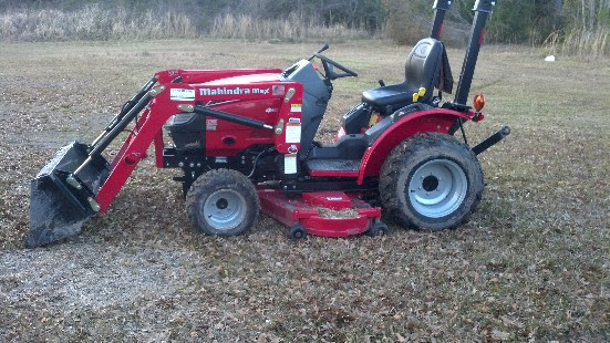 Mahindra max 22 hst review by wm napier tractorbynet com