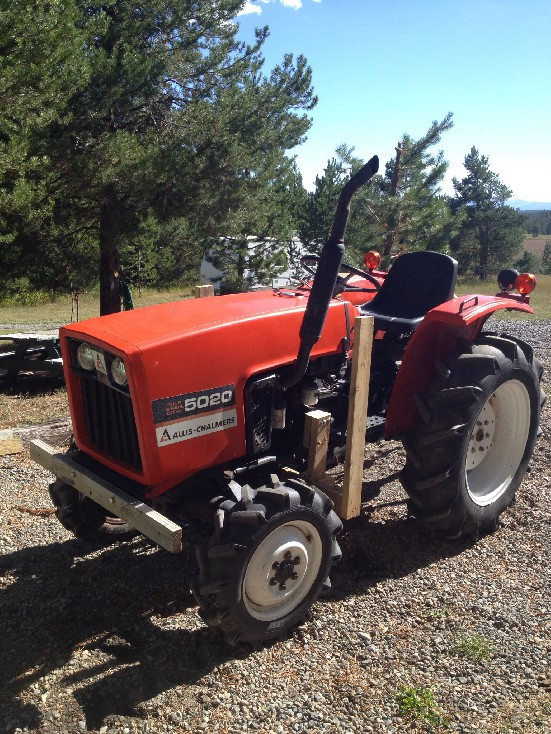 Allis Chalmers 5020 Review by Mitch Meyer - TractorByNet com