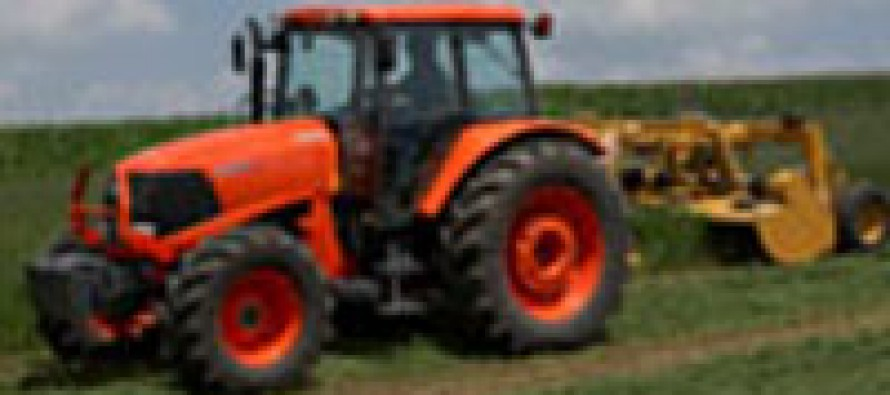 Kubota Increases Size & Power of M Series Tractors