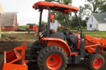 Kubota Adds L45 Tractor-Loader-Backhoe to Lineup