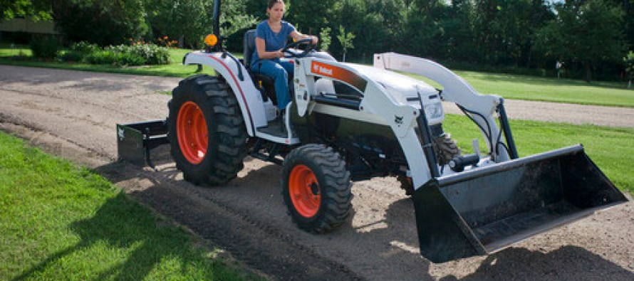 Transmission Option Added to Bobcat Tractor Line