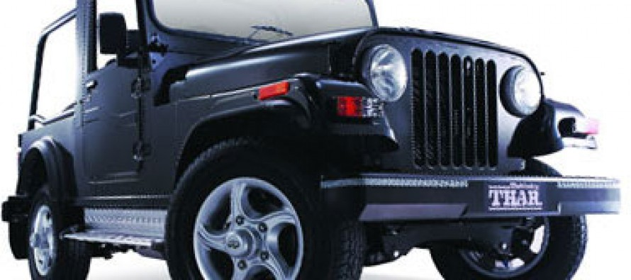 Mahindra Introduces New Offroad 4×4 Vehicle