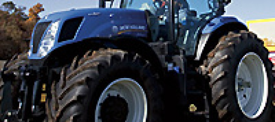 New Holland Recognized for Great Fuel Economy