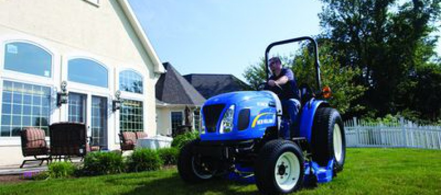 New Holland Boomer Tractors 5-Year Warranty
