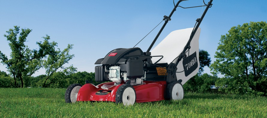 The New Toro 20-inch Recycler Mower