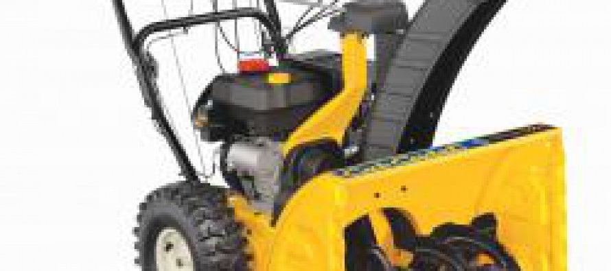 Manage Your Driveway This Winter with Cub Cadet