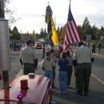 Farmall Parade with Scouts