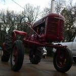 second tractor Farmall A