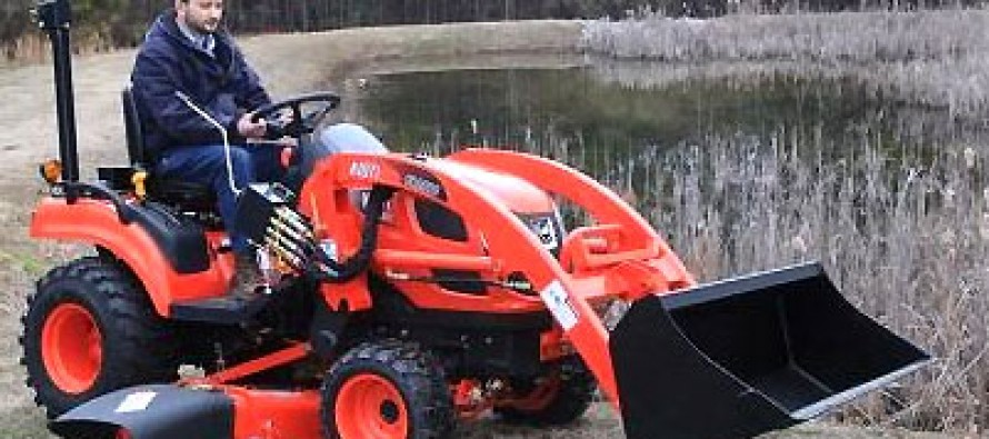 CS2410: Kioti's First Ever Subcompact Tractor