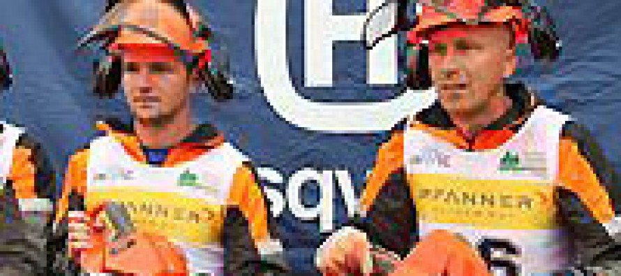 World Logging Champions Choose Husqvarna