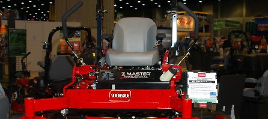 The Toro Z Master and GrandStand Mowers