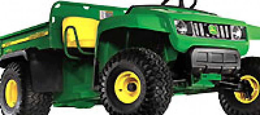 John Deere Recalls Gator Utility Vehicles