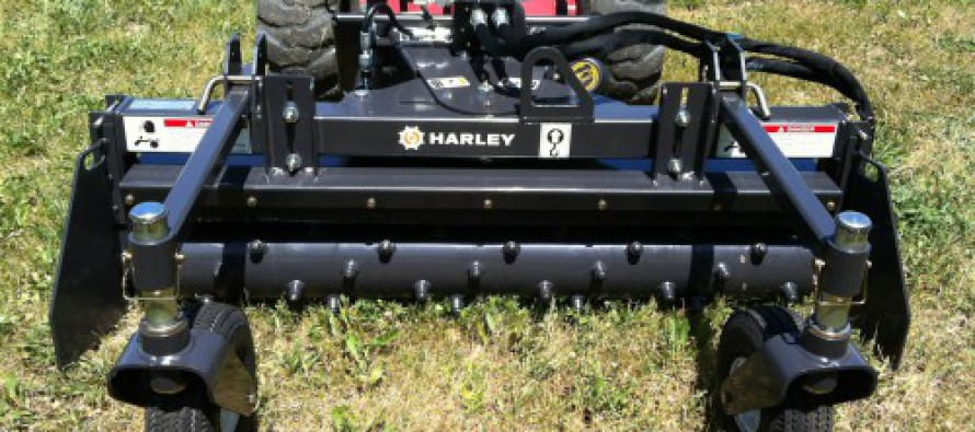 New Harley D4 Power Box Rake for Soil Prep