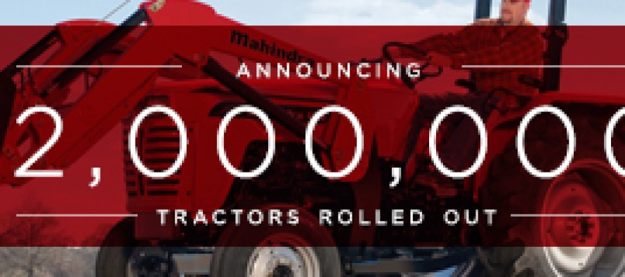 Mahindra Produces Two Millionth Tractor