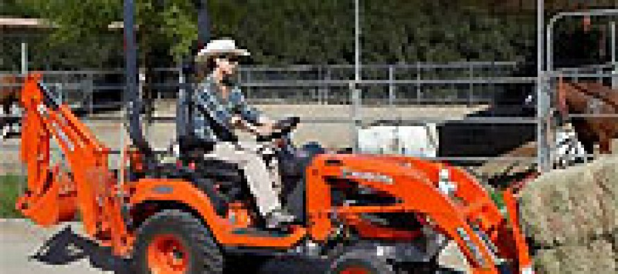 Kubota Launches BX70 Series Subcompact Tractors