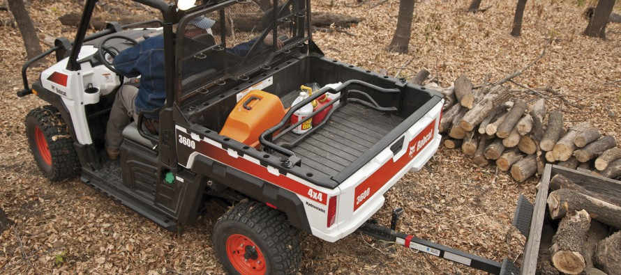 Bobcat Launches 3600 and 3650 Utility Vehicles
