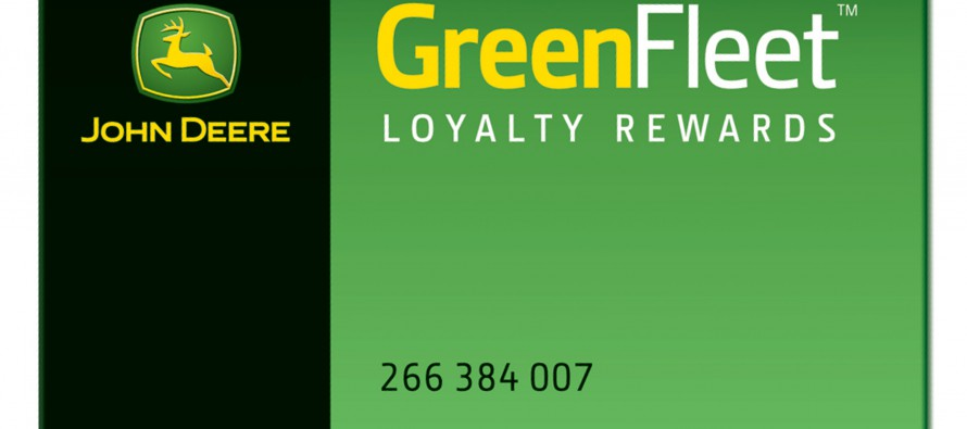 John Deere Introduces GreenFleet Loyalty Rewards