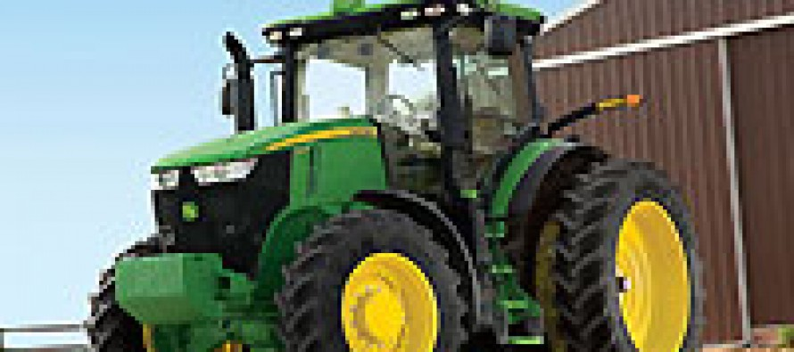 John Deere Rolls Out Five New 7R Series Tractors