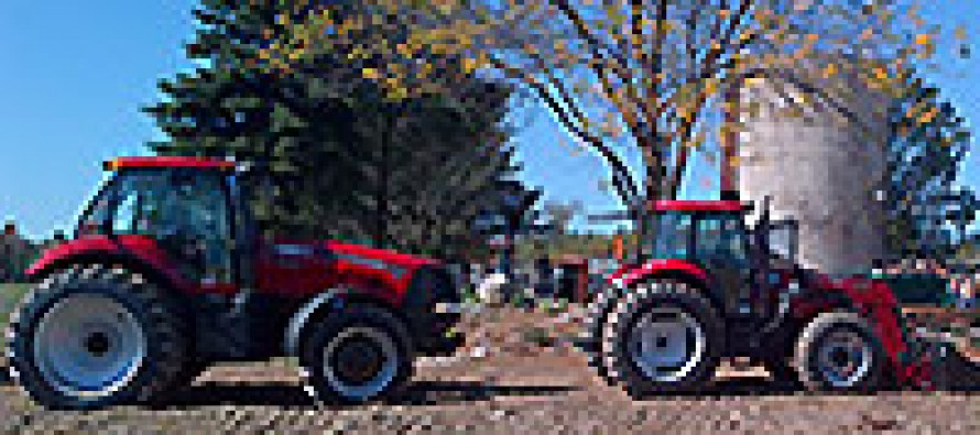 Case-IH Donates Tractors to Forgotten Harvest