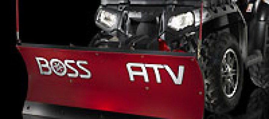 THE BOSS Snowplow Introduces New ATV Plow