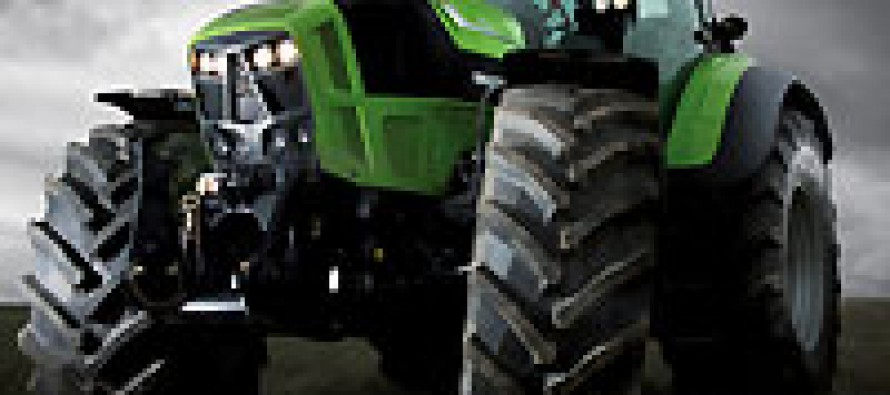 Deutz-Fahr 7250 TTV Agrotron Wins Design Award