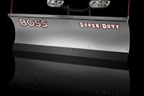 BOSS Snowplow Adds New Stainless Steel Plows