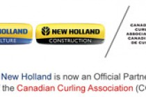 New Holland Joins Canadian Curling Association as Official Partner
