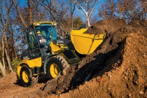 John Deere 244K/324K Wheel Loaders Deliver Big Results in a Compact Package