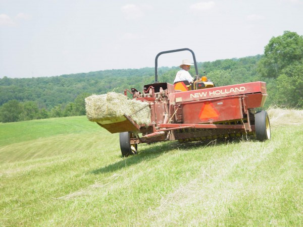 Hay Balers in Action - TractorByNet