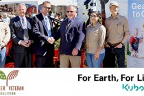 """Kubota Tractor Corporation Launches """"Geared to Give"""" Program with Farmer Veteran Coalition"""