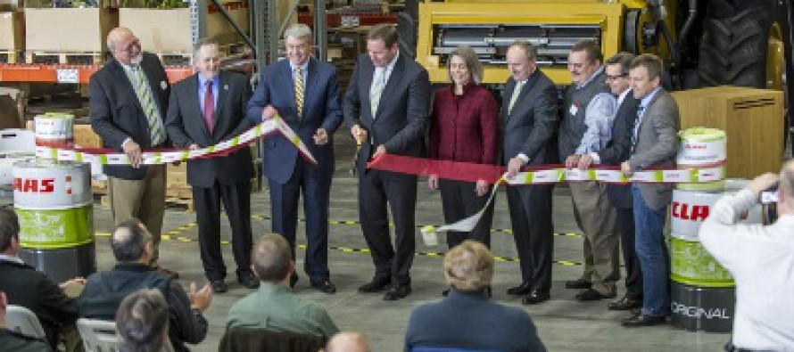 CLAAS Parts Facility Expansion Reflects Company's North American Growth