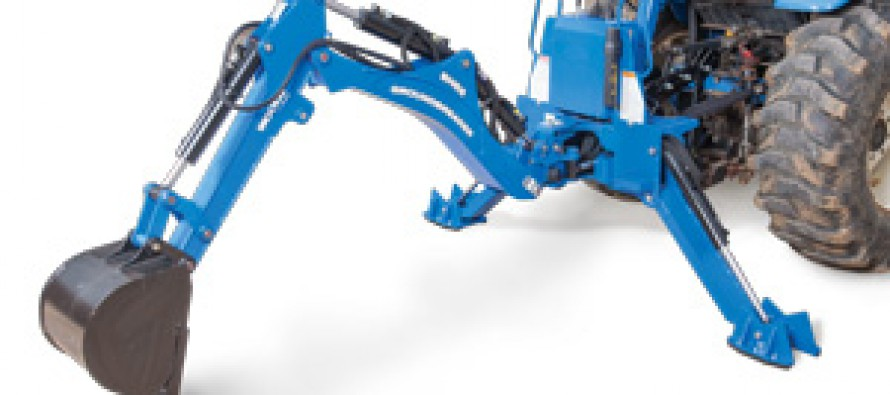Woods Debuts BH65 and BH75 Groundbreaker Backhoes