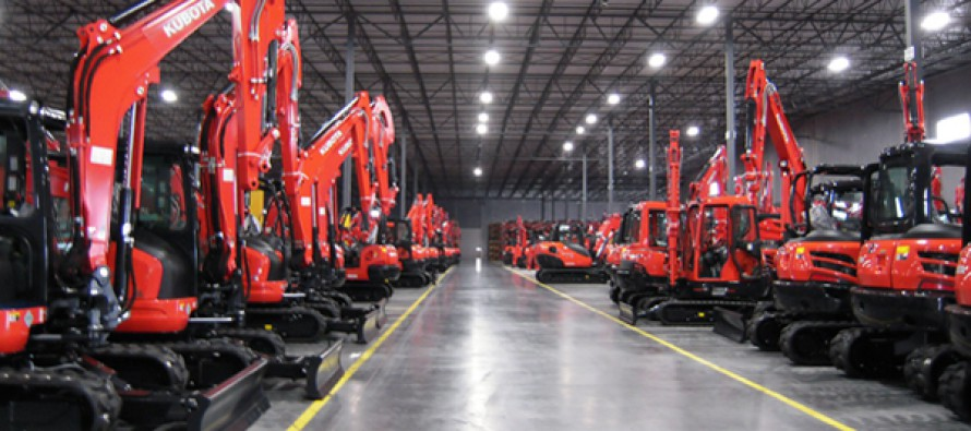 Kubota Tractor Corporation Commemorates Grand Opening of a New Distribution Facility in Edgerton, Kansas