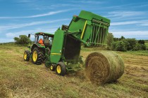 John Deere Introduces the Rugged, Reliable 459E Round Balers