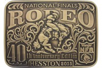 Hesston Introduces Newest Commemorative Belt Buckles