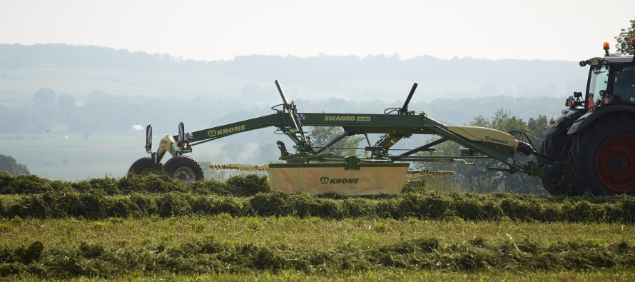 Krone Releases New Generation of Rotary Rakes