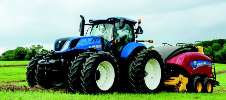 New Holland T7.315 Tractor Wins Machine of the Year 2016 Title at Agritechnica Show