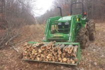 How Much Wood Can a Tractor Haul?