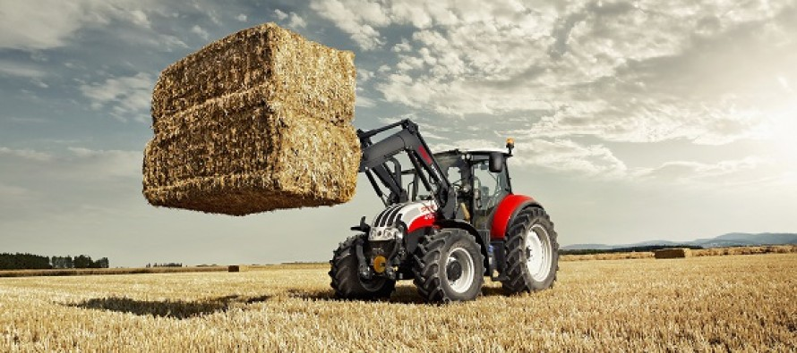 Steyr Introduces New Multi Tractor