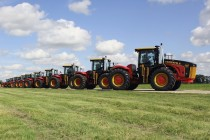 Versatile Shows Off Legendary 50th Anniversary Tractors