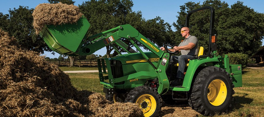 John Deere Introduces Latest Addition to 3E Series Compact Utility Tractors