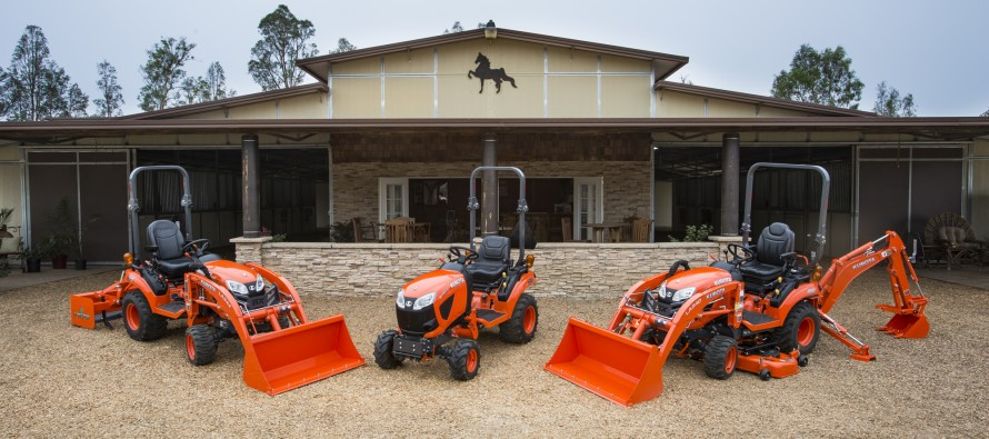 Kubota Introduces All New BX80 Series Subcompact Tractors